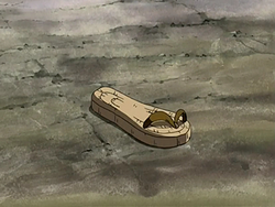 Iroh's sandal