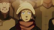 Korra witnessing Amon's power