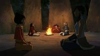 Kya consuela a Tenzin