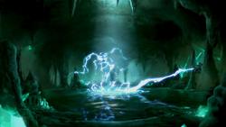 Mako electrocuting Ming-Hua