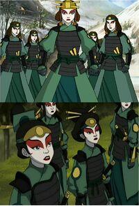 Воины Киоши коллаж 1х04 и 2х16