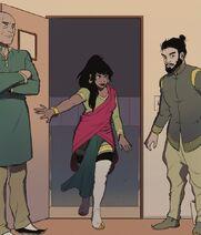 Jargala betritt Asamis Büro