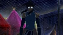 Korra in the Avatar State