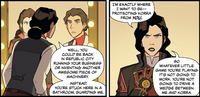 Asami warns Kuvira