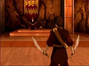 Zuko confronteerd zijn vader