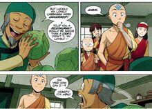 Комикс Р2 Аанг и продавец капусты