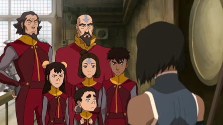 Bumi Was Chosen By Korra To Be Part Of Her Airbender Stealth Team Tasked With Kidnapping Baatar Jr From His Airship