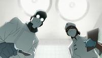 Cirujano y enfermera