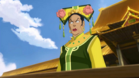 Hou-Ting's temper