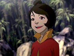 Jinora smiling