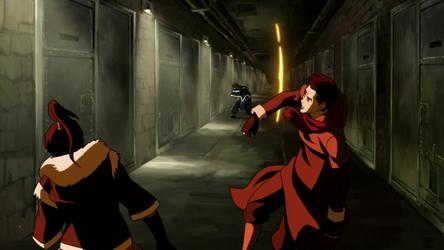 File:Korra and Mako fighting Unalaq.png