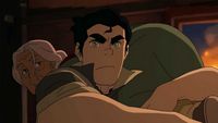 Bolin carrying Yin