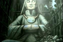 Yangchen standbeeld