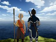 Aang und Sokka Invasion