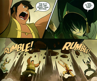 Team Beifong lifts the mask