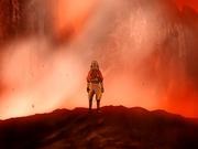 Aang vor Vulkan