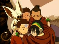 Equipo Avatar en la Nación del Fuego