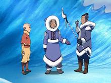 Katara ja Sokka löytävät Aangin