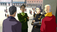Raiko, Wu, Lin, and Tenzin