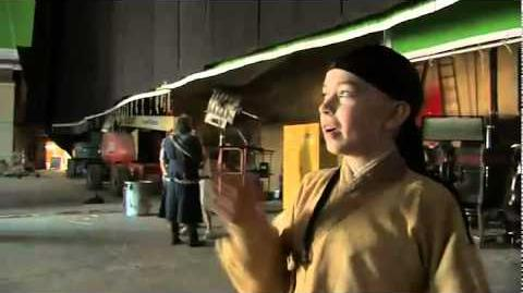 """Aang for a day"" On Set with Noah Ringer (Clip from DVD Bluray)"