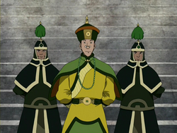 Kuei and guards