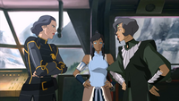 Lin and Suyin reunite