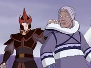 Zuko ataca a la tribu agua