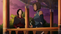 Asami worried about Korra