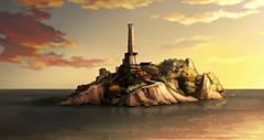 Isla del templo aire