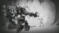 Nuktuk destroys automatons