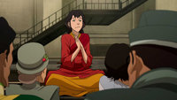 Pema entertaining