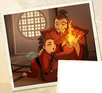Young Iroh and Zuko