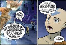 Комикс П3 Аанг и Мать Лиц