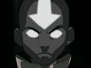 Aang in de Avatar Trance