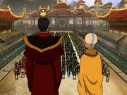 Discurso de Aang y Zuko