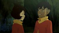 Jinora and Kai reunite