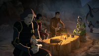 Lin annoyed with Toph