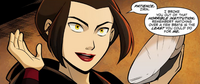 Azula reveals herself