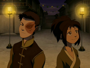 Jin con Zuko