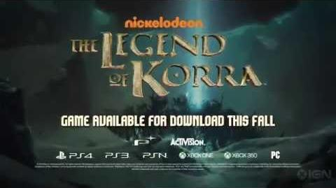 The Legend of Korra Videogame Trailer