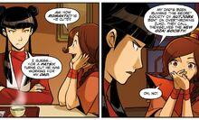 Комикс ДТ1 Встреча Мэй и Тай Ли