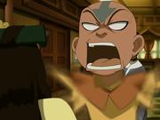 Joo Dee 1 wird angebrüllt von Aang