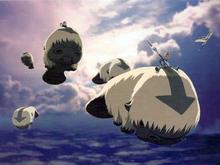 Летающие зубры арт