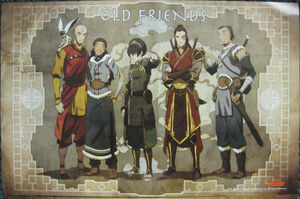 Poster - Old friends