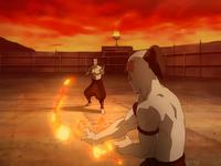 Agni Kai entre Zhao y Zuko