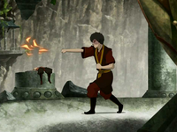 Zuko's weak firebending