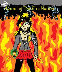 Azumi firebending