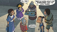 Grandma Lokai and Team Avatar