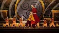 Jinora hugs Tenzin