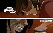 Zuko le pide consejo a Ozai
